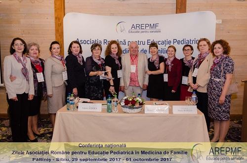 """Conferința Națională """"Zilele Asociației Române pentru Educația Pediatrică în Medicina de Familie"""