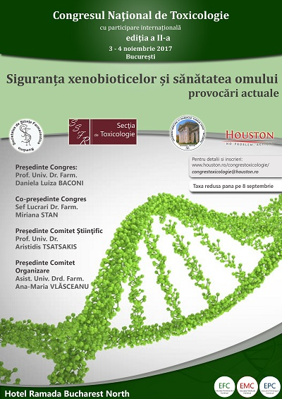 Congresul Național de Toxicologie – editia a II-a